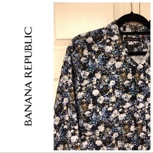 NEW BANANA REPUBLIC GANT FIT BUTTON DOWN SHIRT